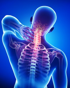 Боли в руках после пробуждения могут быть вызваны остеохондрозом шейного отдела позвоночника
