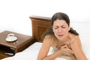 Изжога ночью встречается у людей с рефлюксной болезнью