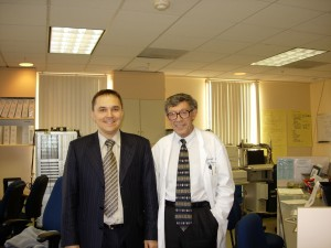 Р.В. Бузунов и профессором Кристианом Гуллимино (Cristian Guilleminault)
