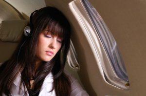 Белсомра в самолете
